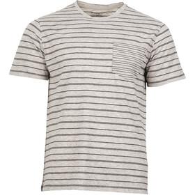 United By Blue M's Standard Stripe SS Tee Grey
